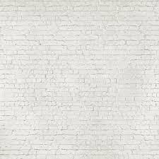 1 wall giant wallpaper mural loft white brick effect 3 15m x 2 32m