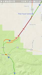 Las Vegas Traffic Map Victorville Motorcyclist Killed On The 15 Freeway Snarling
