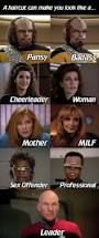 star trek visualizes the importance of a good haircut c c