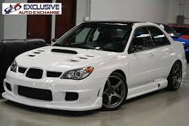 subaru black friday sale 2006 used subaru impreza sedan wrx sti at exclusive auto exchange