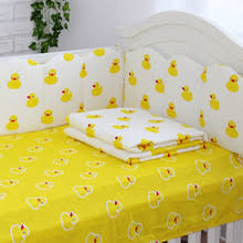 Duck Crib Bedding Set Buy Yellow Crib Sets And Get Free Shipping On Aliexpress