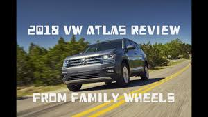 volkswagen atlas interior sunroof 2018 vw atlas review from family wheels youtube