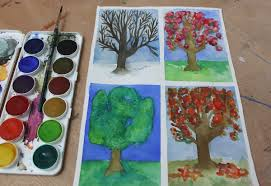 9 tips for painting trees in watercolor any season