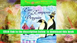 audiobook eve of the emperor penguin magic tree house no 40