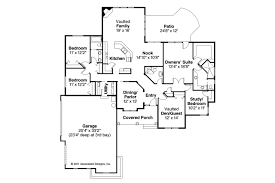 Mediterranean Style Floor Plans Mediterranean House Plans Roselle 30 427 Associated Designs