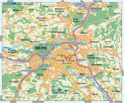 Switzerland World Map by Map Of Berne Switzerland Map In The Atlas Of The World World