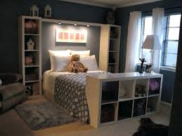 Platform Bed With Lights Side Table Side Table With Light Bedroom Dark Furniture And