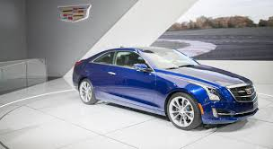 logo cadillac 2014 detroit cadillac reveals the ats coupe with the new
