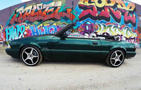 7 up edition mustang limited edition 7up mustang 1990 lx convertible