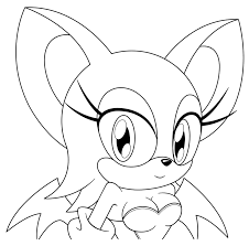 chibi rouge by sonictopfan on deviantart
