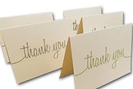 thank you card size discount thank you notes for written correspondence