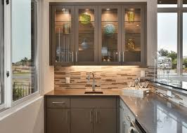 Kitchen Cabinet Glass Doors Brilliant New Glass Inserts For Kitchen Cabinet Doors Image Of