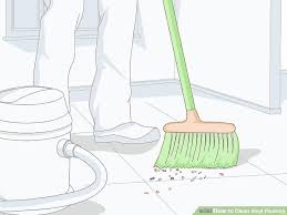 how to clean vinyl flooring 15 steps with pictures wikihow