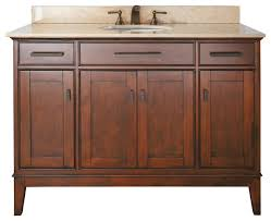 Craftsman Style Bathroom Craftsman Style Bathroom Cabinets Vanity Combo Tobacco The