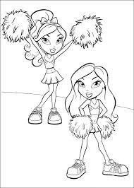 bratz coloring pages twins babyz 1 bratz u0027 blog