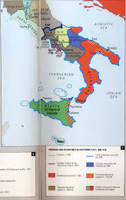Apulia Italy Map by Formation Of Italy