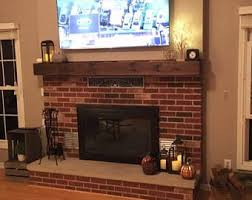 fireplace mantel etsy