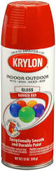 amazon com krylon 52108 paint enamel 12 oz banner red automotive