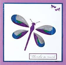 thanks so much iris folding card