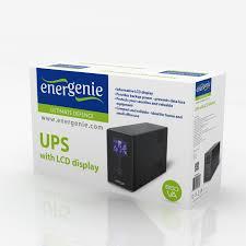 Home Ups by Ups With Lcd Display 650 Va Black Eg Ups 031