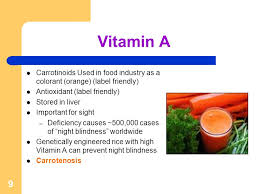 Vitamin A Deficiency Causes Night Blindness 1 Vitamins Monika Yadav Vitamins Vitamins Are Essential Organic