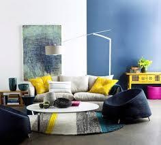 wohnzimmer blau grau rot ideen kühles wohnzimmer blau grau rot moderne huser mit