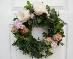 wedding wreath flowers by vicki wedding wreath