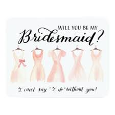 bridesmaids invitation will you be my bridesmaid cards