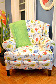 Reupholster Armchair Tutorial Tips For A Mostly No Sew Reupholstered Chair Lifestyle For