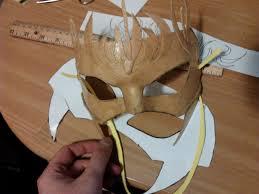 paper halloween mask worbla halloween mask setsu uzume