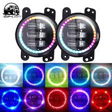 app controlled car lights sup light 4 auto parts rgb angel eye app bluetooth control car fog