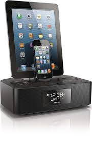 dual dock triple charging clock radio aj7260d 37 philips
