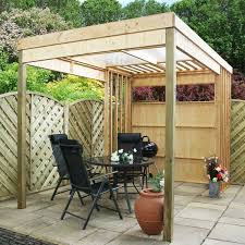 Garden Shelter Ideas 11 X 7 Waltons Contemporary Garden Shelter With Bbq Area Garden