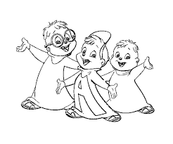 coloring pages mesmerizing alvin chipmunks coloring