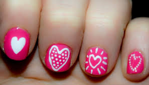 nail art for kids with short nails for beauties party nail art