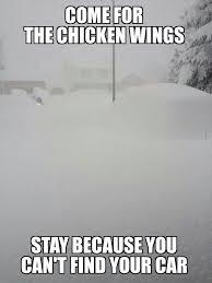 Snow Meme - funny joking photos in the snow buffalo snow meme funny motley