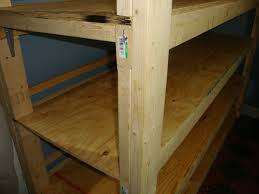 Building Wood Shelves 2x4 by Bob U0027s Practical Prepping Build Wood Shelves For Your Food Storage