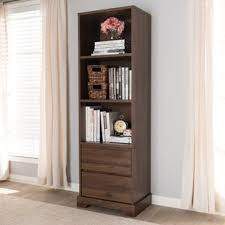 2 Shelf Bookcase With Doors Bookcase Dresser Combo Wayfair