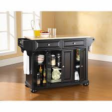 cabinet natural wood kitchen island home styles solid wood