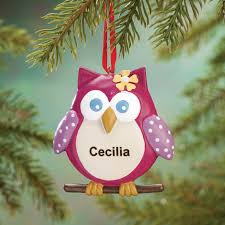 personalized sweet owl ornament owl ornament miles kimball