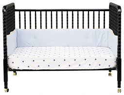 How To Convert A Crib To Toddler Bed by Davinci Jenny Lind 3 In 1 Convertible Crib In Ebony M7391e