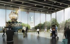 design shows design for new statue of liberty museum unveiled the blade