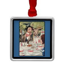 mad hatter tea ornaments keepsake ornaments zazzle