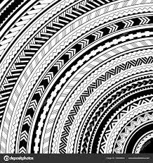 maori style ethhnic ornaments stock vector akv lv 166640664