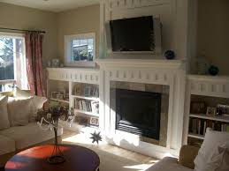 Fireplace Surround Bookshelves Fireplace Mantels And Bookcases Home Design Popular Top To
