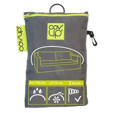 housse plastique canapé housse de protection pour canapé cov up l 130 x l 75 x h 60 cm