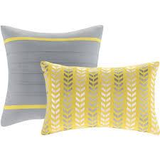 Gray Twin Xl Comforter Home Essence Apartment Darcy Bedding Comforter Set Walmart Com