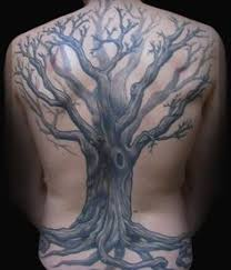 40 tree back designs for wooden ink ideas oak tree