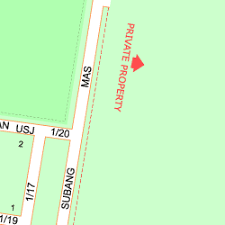 map usj 2 map of jalan pinggiran usj 2 1