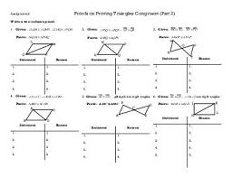proving triangles congruent worksheet answers 28 templates